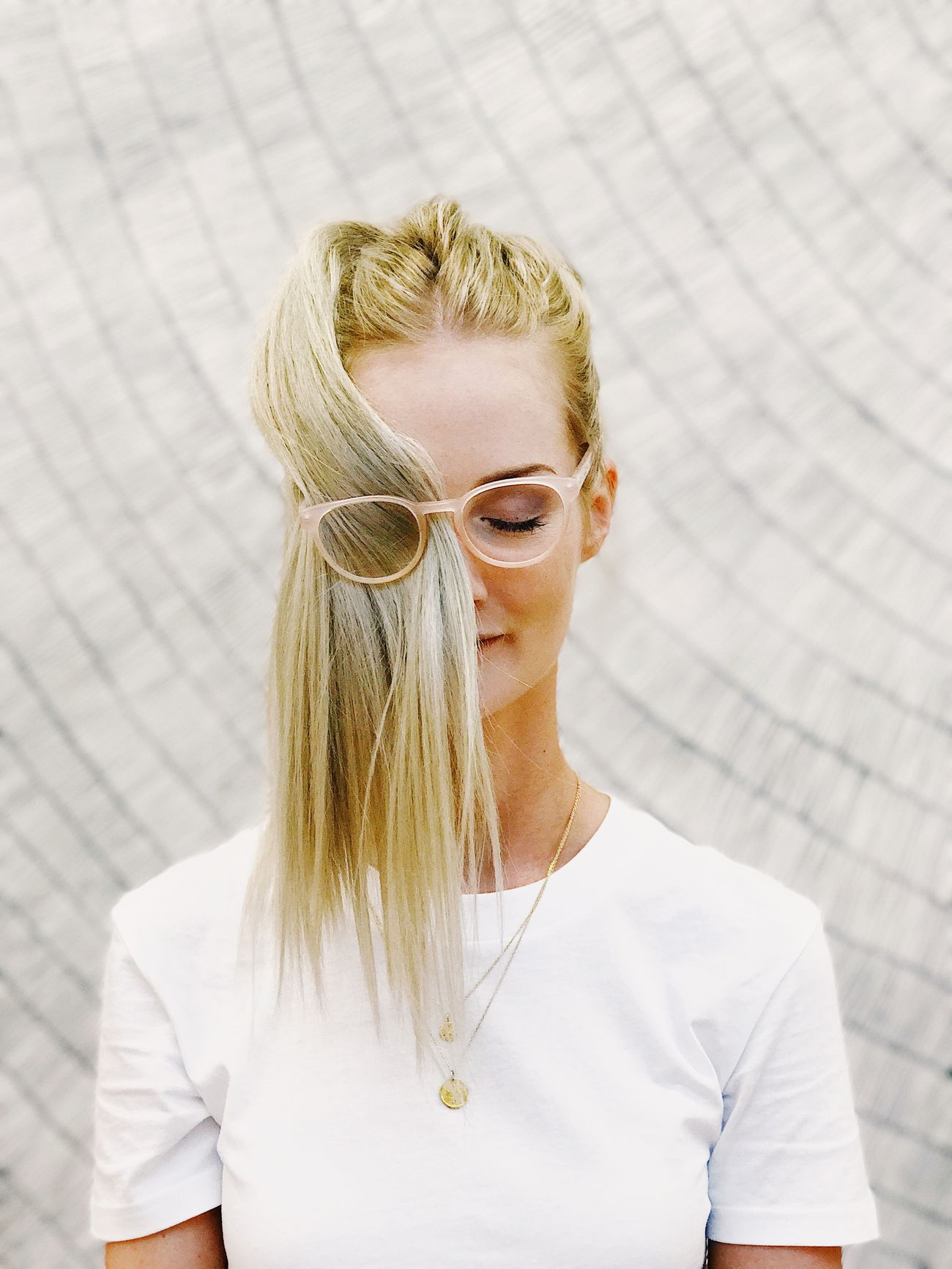 EyeEm Selects Blond Hair One Person Sunglasses One Woman Only Casual Clothing Day Young Adult Outdoors Eyeglasses  Women Only Women Headshot Beautiful Woman Adults Only Portrait Adult One Young Woman Only Young Women People Close-up The Week On EyeEm
