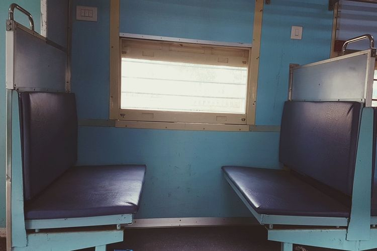 Raliway chair inside Bangalore local train to Whitefield Transportation Railways India Train - Vehicle Empty Train Train Chair Vintage Chairs Travel Urban Transportation Bangalore Indoors  Abandoned House Business Finance And Industry No People Old-fashioned Home Interior Domestic Room Day Rotting Architecture