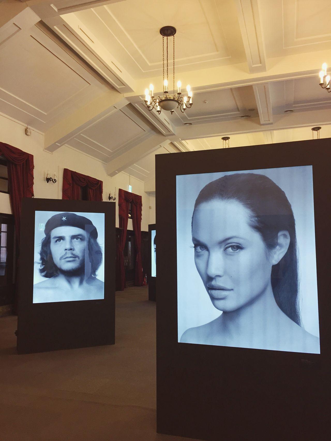 Seoul Korea Modern Angelina Joli Art Black White Museum Photo