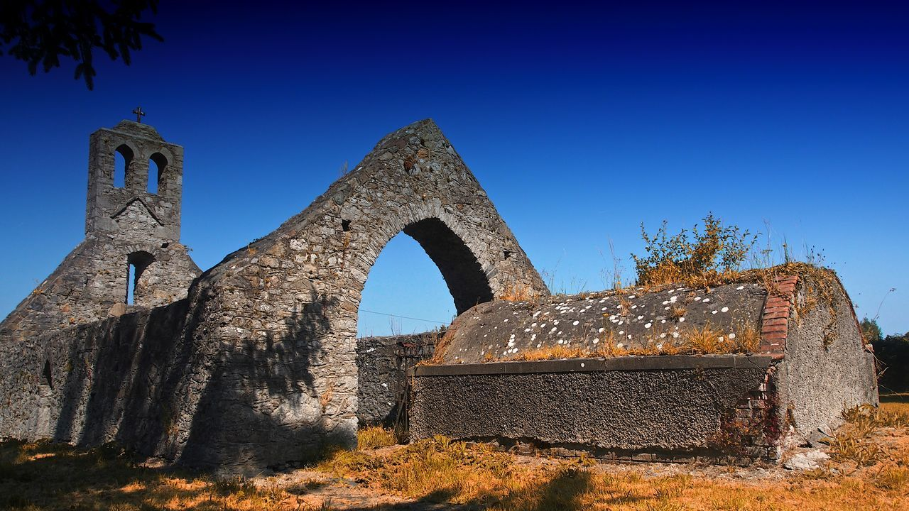 history, old, old ruin, ancient, damaged, the past, run-down, abandoned, built structure, architecture, clear sky, day, bad condition, sunlight, no people, ancient civilization, outdoors, nature, sky