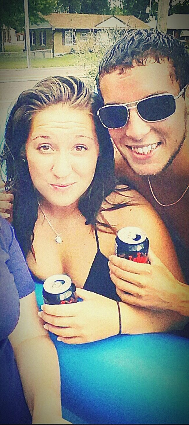 Summer ☀ Fun Pool Time Memories ❤ R.i.paradise Ripcali Beer Time Bud Select
