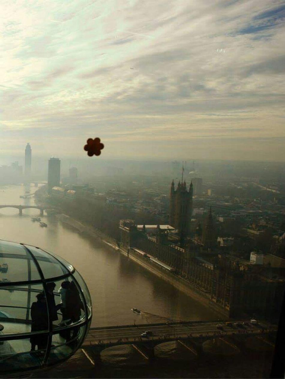 London LondonEye Stickers Sunny London London Eye Travel Cabin Houses Of Parliament River Thames London View