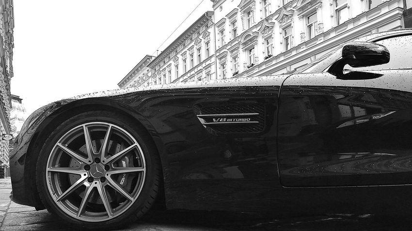EyeEmNewHere EyeEm Car Outdoors Rainy Days Weather Elegant No People Day Transportation Land Vehicle Tire Blackandwhite EyeEm Selects The Week On EyeEm Your Ticket To Europe