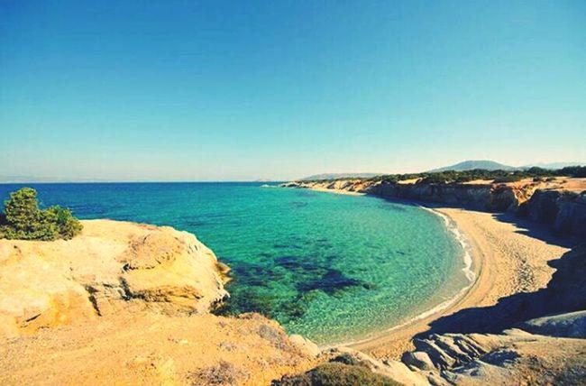 Landscape Traveling Greece Naxos