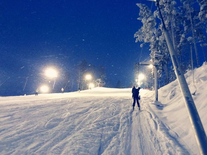 Skiing First Eyeem Photo