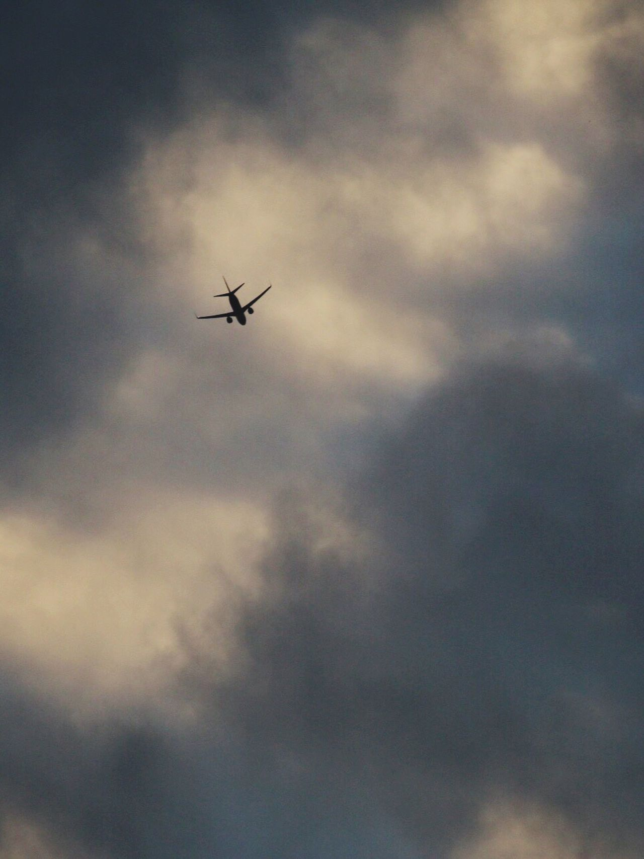 Flying Sky Airplane Cloud - Sky City Life Canon70d Hello World Looking
