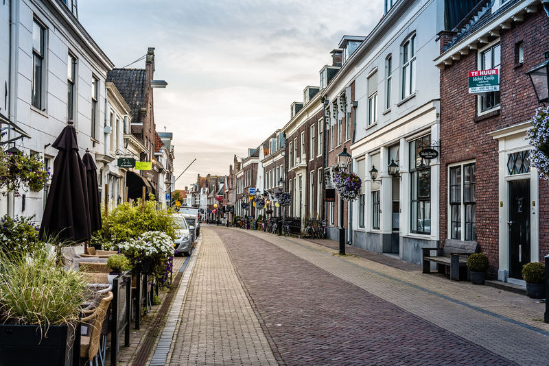 Cityscape of Naarden Architecture Building Exterior Built Structure City City Cityscape Cityscapes Cloud - Sky Day Fortress Garrison No People Outdoors Sky Street The Way Forward Tourism Town Travel Destinations Tree