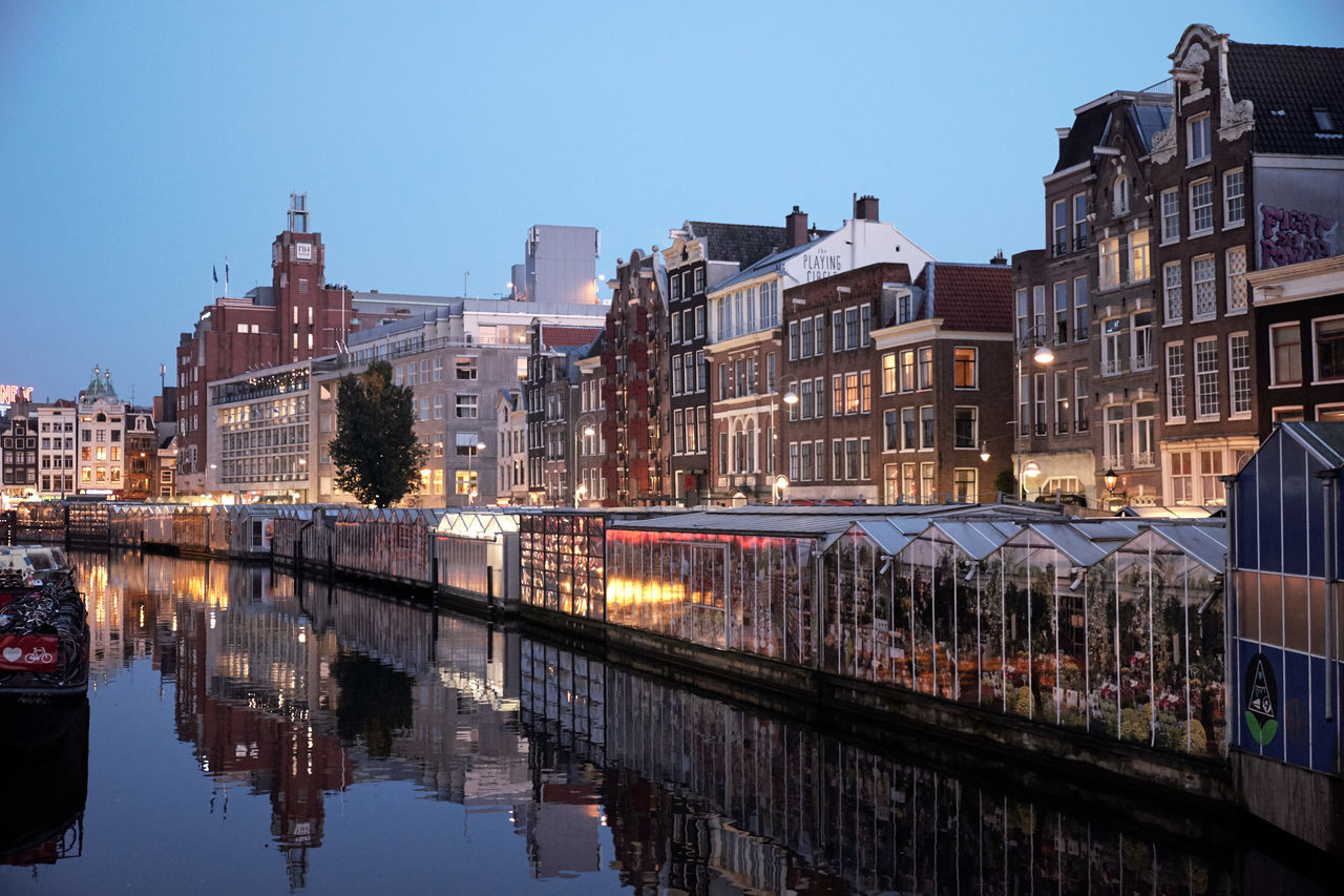 Beautiful stock photos of twilight,  Amsterdam,  Architecture,  Bridge - Man Made Structure,  Building Exterior