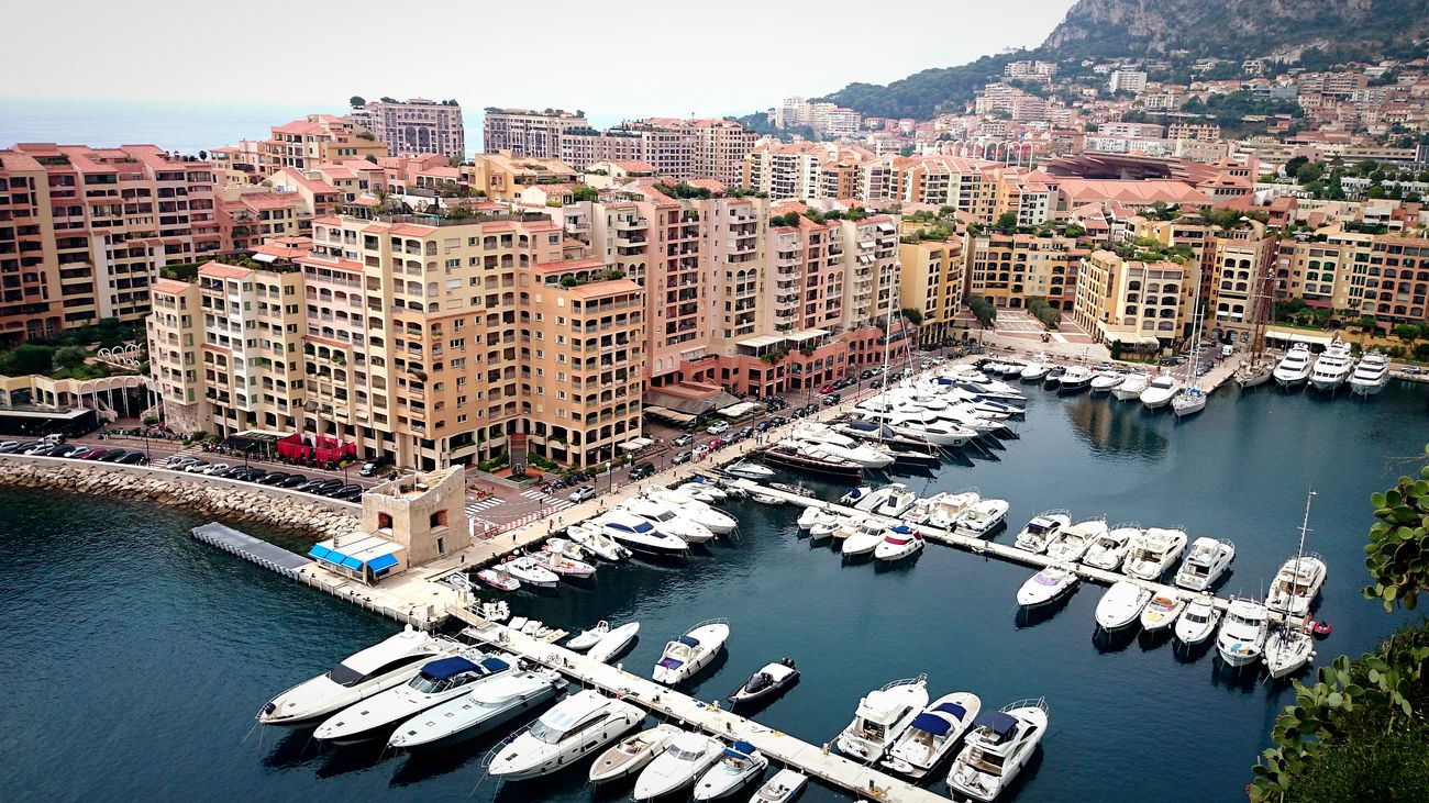 City Water Nautical Vessel Sea Cityscape Harbor Urban Skyline Business Finance And Industry Architecture Travel Destinations Outdoors City Life Moored Aerial View Sky Building Exterior Yacht Passenger Craft Skyscraper Sailboat Monaco