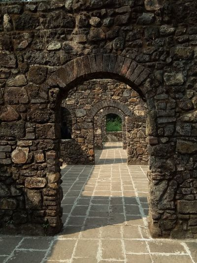 travel through every difficulties #vasai fort Vasai Fort Travelphotography Eyemnaturelover EyeEmNewHere Architecture History The Way Forward Castle Built Structure