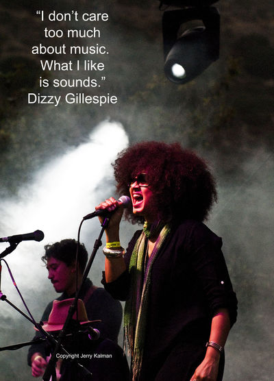 It's the birthday of #jazz notable #DizzyGillespie and we honor him with a #quote and a scene from the recent music festival at #PalaMesaResort. If this #quotograph speaks to you, please #repost it. Dizzy Gillespie Fallbrook Jazz Pala Mesa Resort Rebecca Jad Quote Quotograph