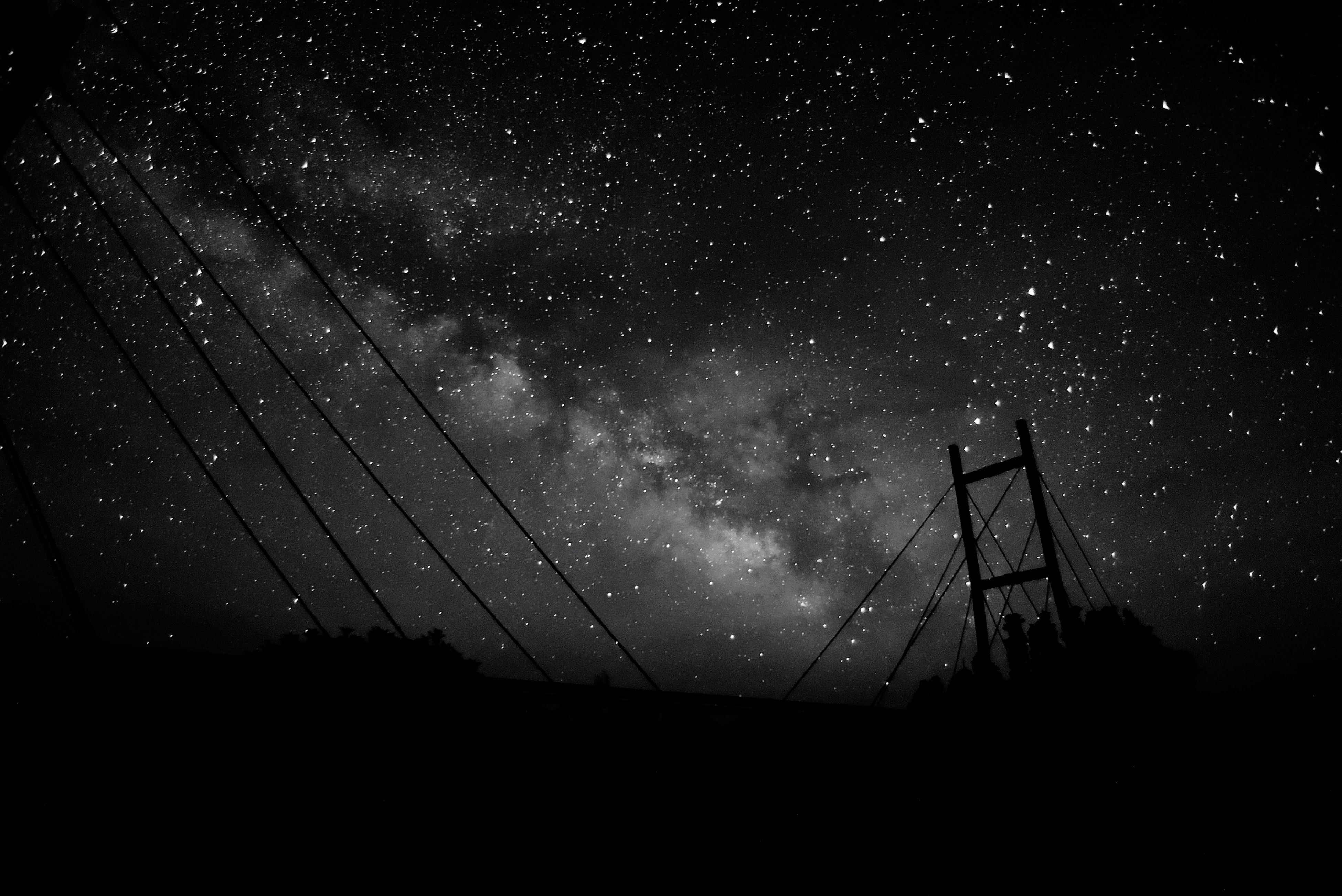 night, star - space, astronomy, star field, space, low angle view, star, scenics, sky, galaxy, beauty in nature, infinity, tranquil scene, nature, constellation, dark, tranquility, idyllic, space exploration, majestic