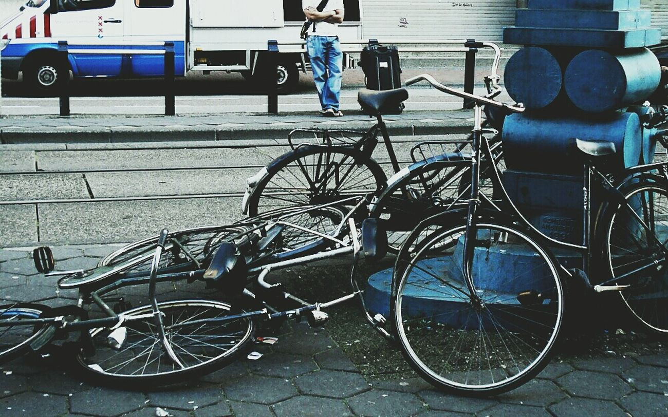 A pile of Bicycle. .. Hanging Out Holiday Starting A Trip Check This Out
