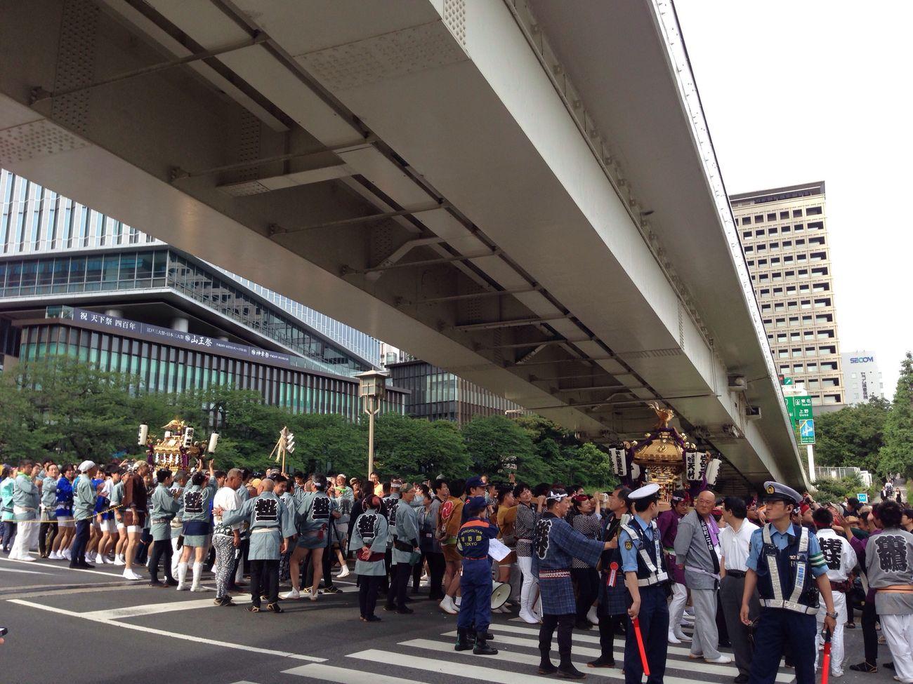 Tokyo Japan 山王祭! 400年!