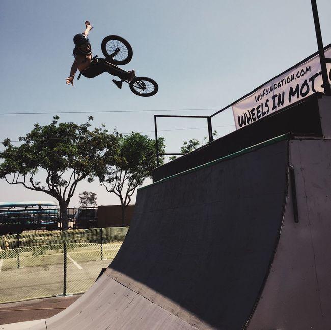 Flying high... Bmx  My Best Photo 2015 Chula Vista Extreme Sports
