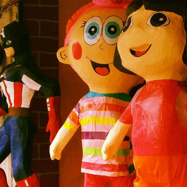 Art Chapas Close-up Colorful Craft Creativity Decoration Multi Colored Piñata Quevivaelpapel