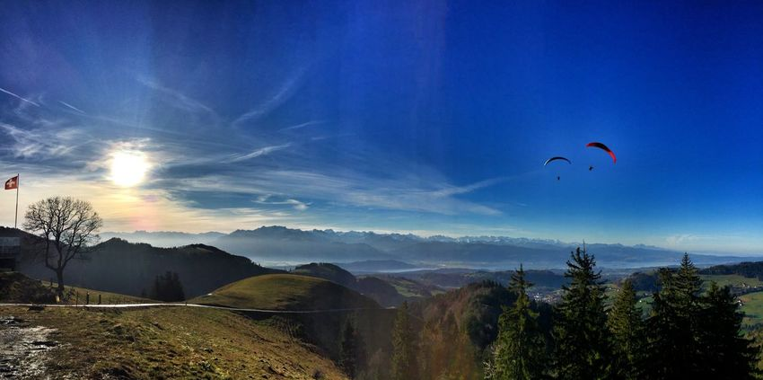 Sky_collection Paragliding Wintertime