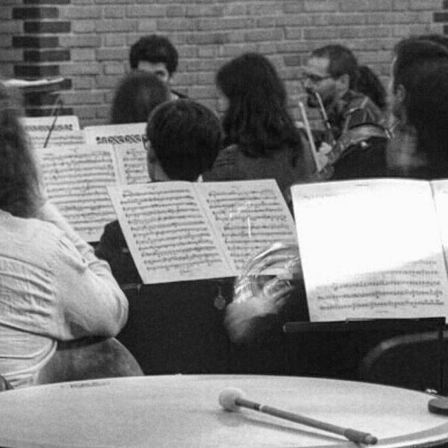 Ensayo de la Orquesta SinfonicaVerum en @verumbodegas