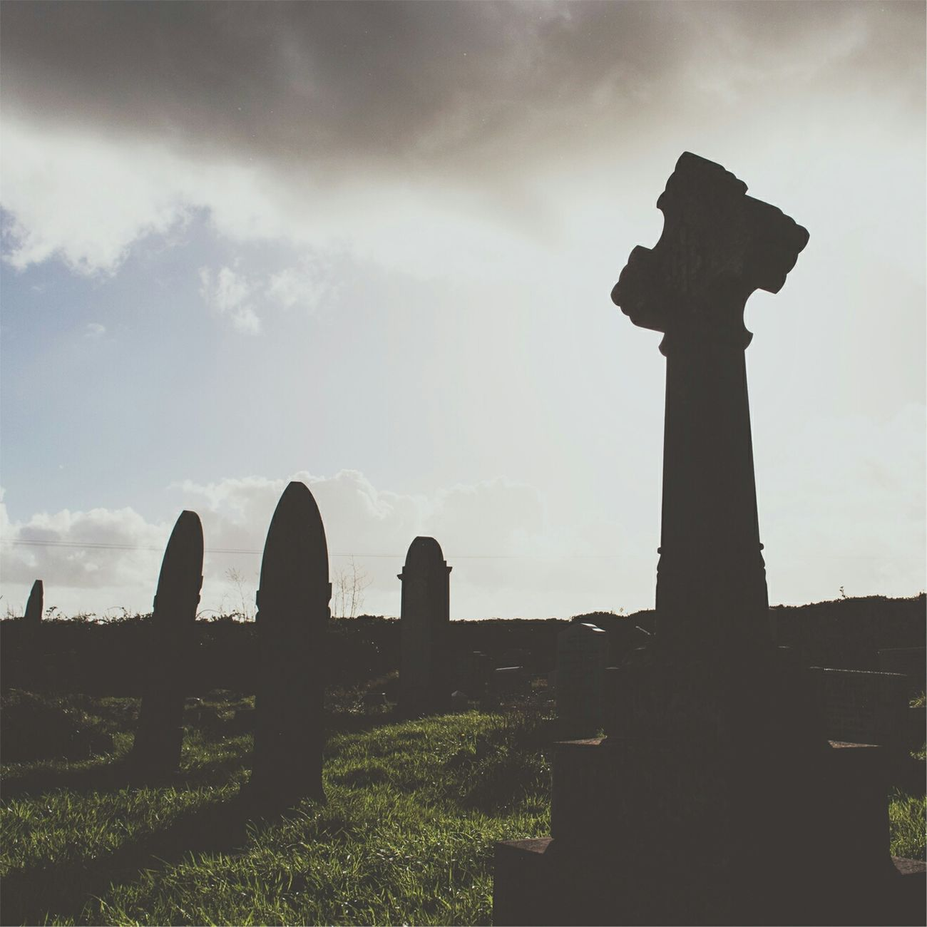 The very old graveyard at Rame Head Church. Some of these graves are dated in the mid 1700's. Graveyard Graveyard Beauty Graveyardphotography Graveyard Collection Silhouette Silhoutte Photography Image 31 Photography Plymouth Cornwall Church Old Church Cross Imposing Wide Angle Culture History First Eyeem Photo