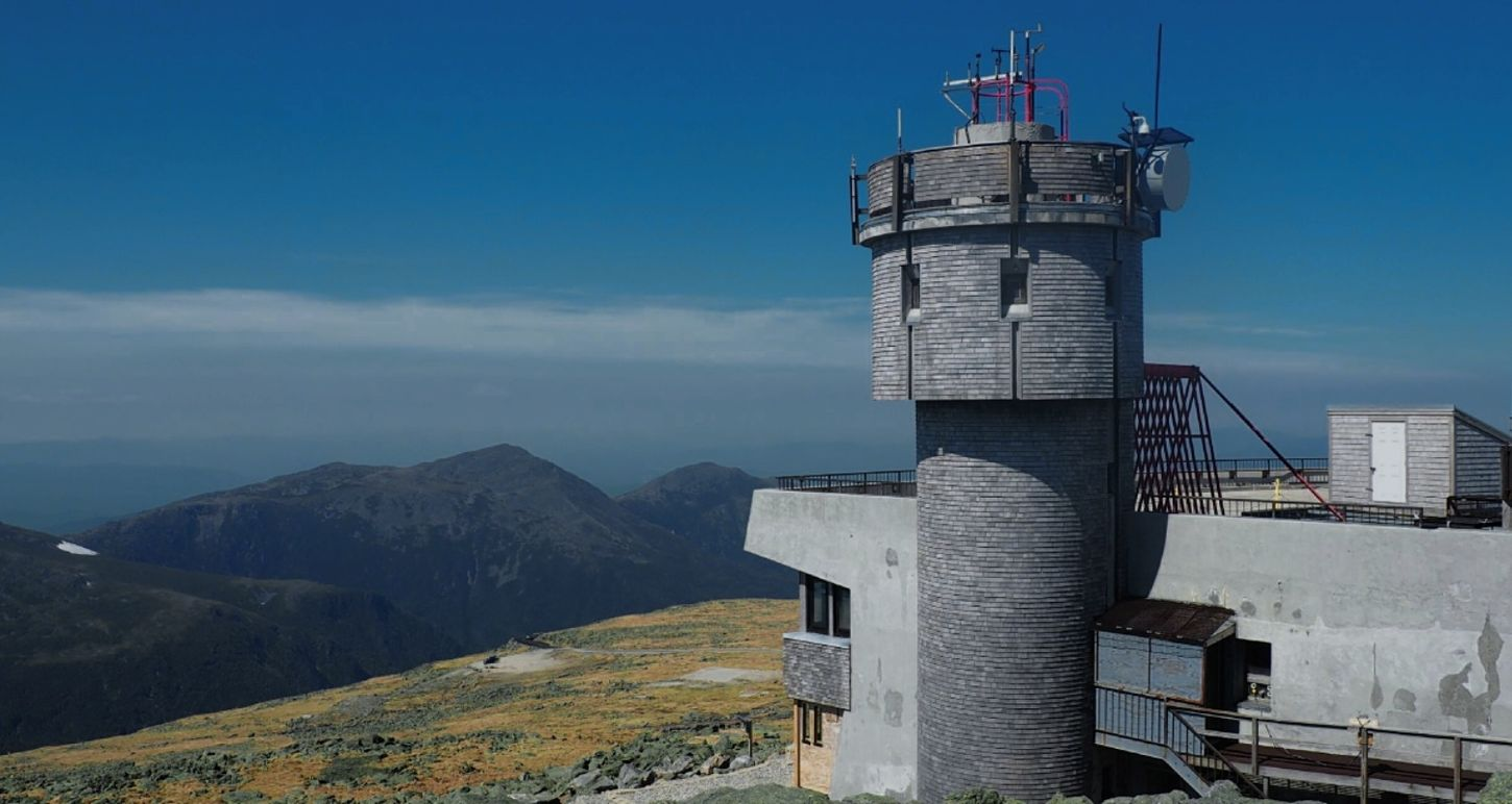 Elevation 6,289ft Mountain Sky Blue Outdoors Nature No People Day Architecture Mt. Washington