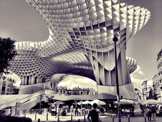 AMPt_community at Metropol Parasol by Juan Pascual