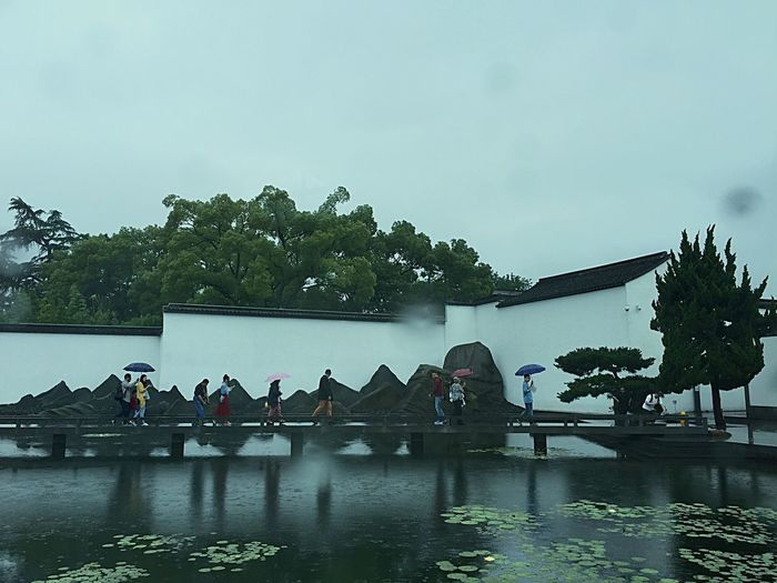 Suzhou museum Museum Check This Out Hello World Hanging Out Relaxing Streetphotography Building Photography Rainy Days Hi! Nature Photography Happiness EyeEm Nature Lover Lifestyles China Garden