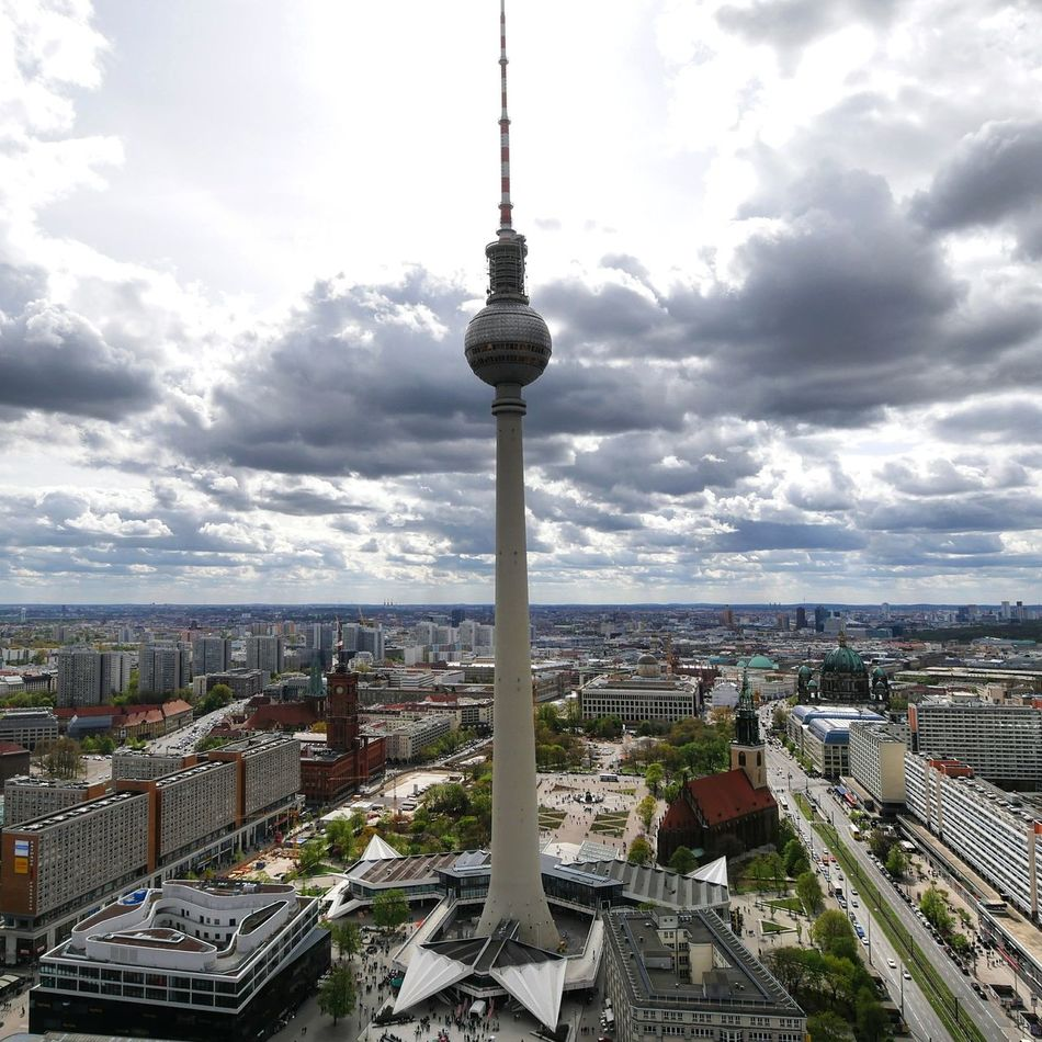 Architecture Cityscape City Urban Skyline Tower Cloud - Sky High Angle View Berlincity Berlin, Germany  Berlin Life Berlintourist Berlinplaces Travelphotography Travel Destination