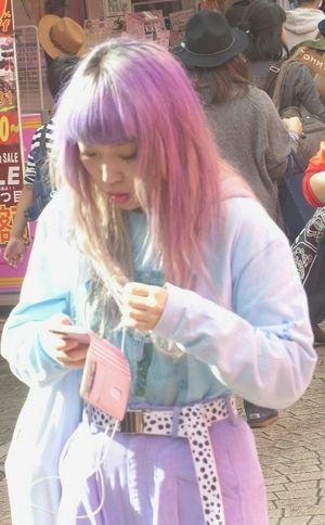 The teen scene in Harajuku Tokyo... People Watching People Teen Teenager The Portraitist - 2015 EyeEm Awards Teens Teenagers  Japan Japanese  Japanese Style The Places I've Been Today The Street Photographer - 2015 EyeEm Awards Streetphotography