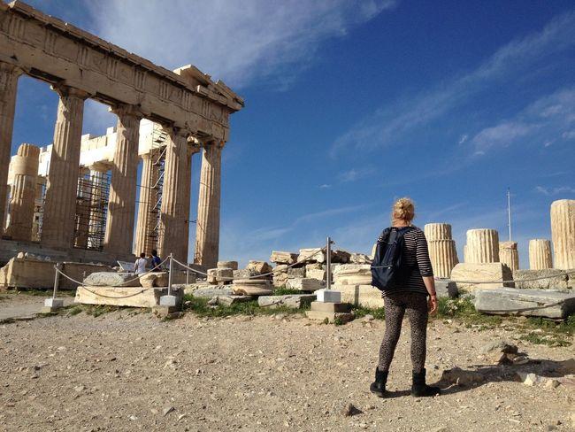 The Parthenon Acropolis, Athens Acient Arquitecture Historical Monuments Historical Building