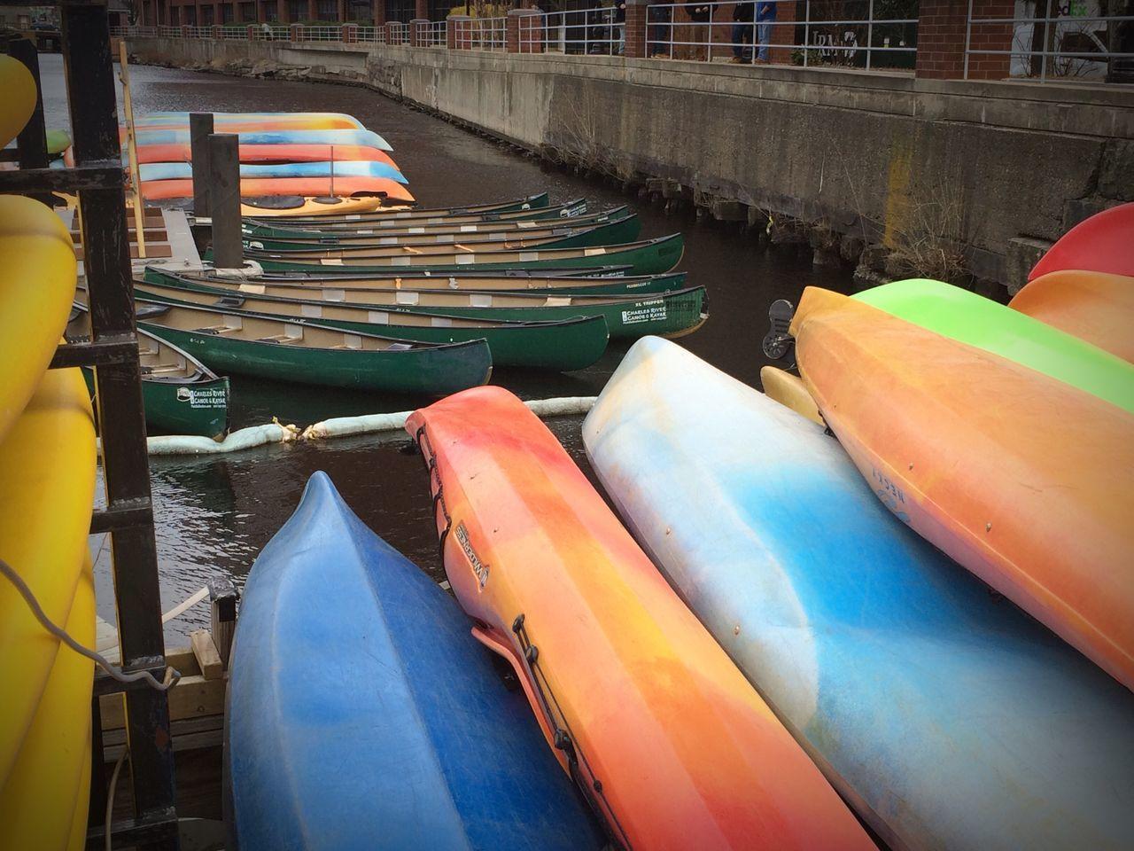 Kayak Kayaking Kayaking Kayaks Canoe Canoetrip Canoeing Green Canoes Primary Colors River