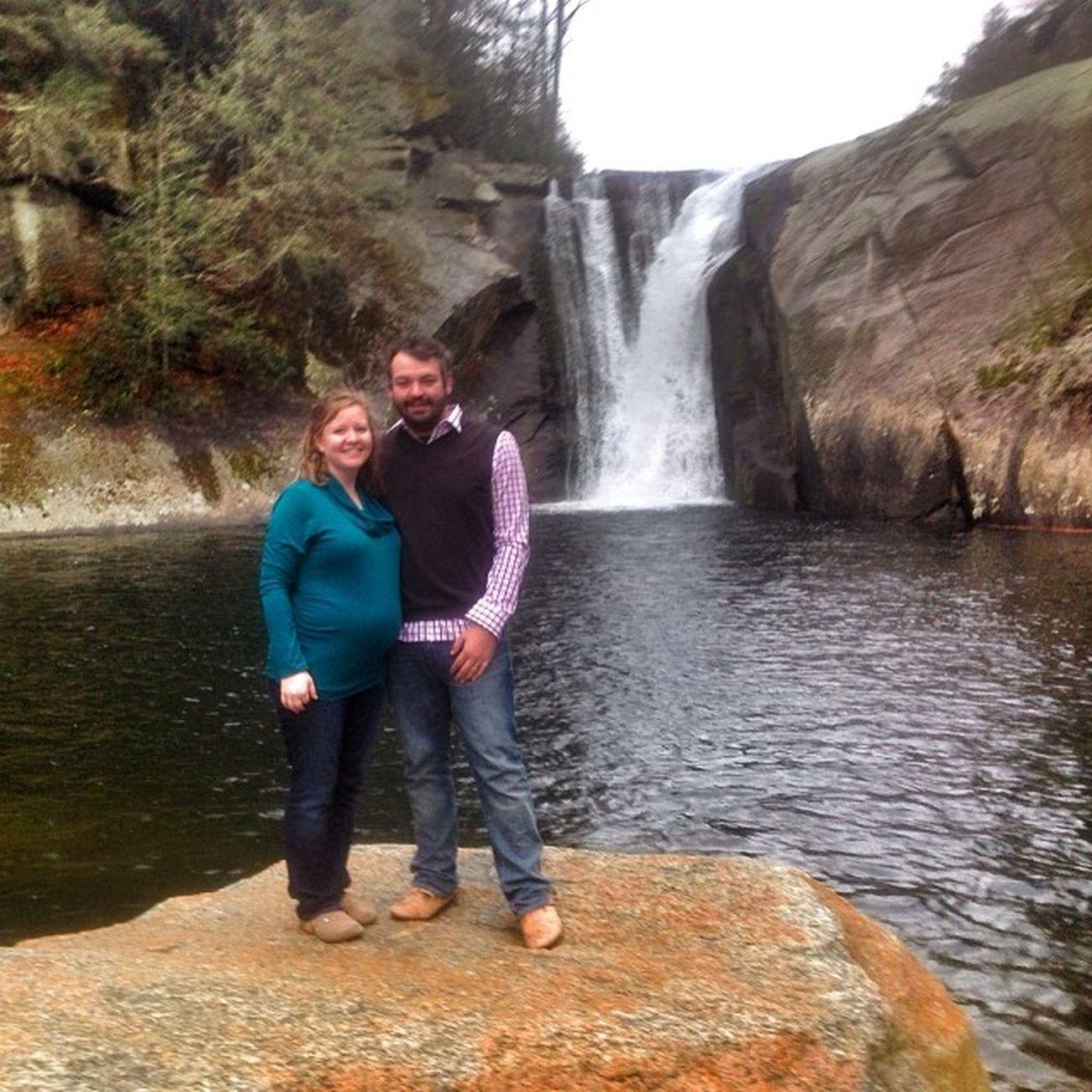 Megan and I at Elk River Falls