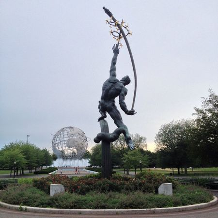 Flushing Meadow Park My View Myview Earth Metalsculpture Metal Sculpture NYC NYC Photography Park Unisphere