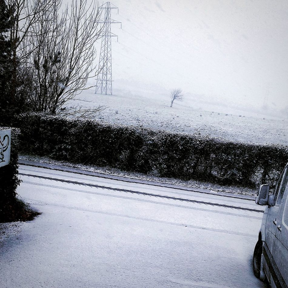 Snow ❄ Carryduff Northern Ireland Countryside