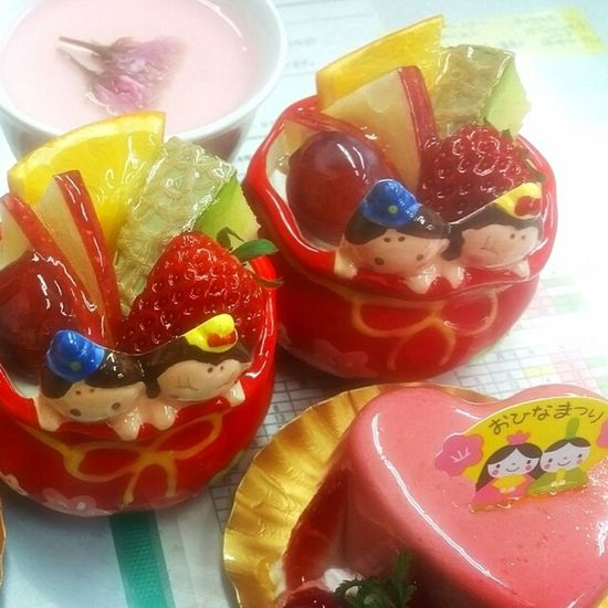 Sweets Dessertporn Yamiyami Cake♥ Strawberry ひなまつり