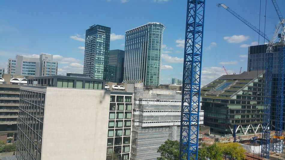 Office View Office Building High Rise Building London City City London Unseen London Crane Construction Crane - Construction Machinery Cityscape Pmg_lon
