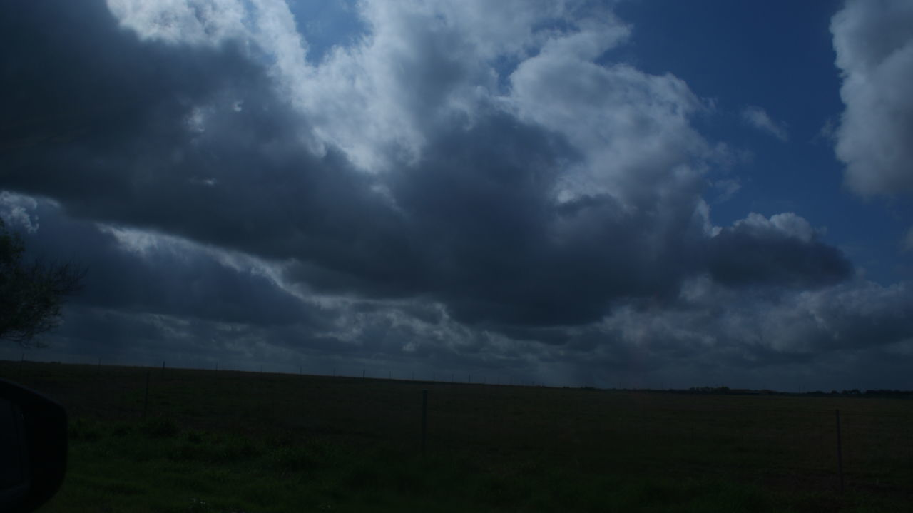 cloud - sky, sky, nature, weather, beauty in nature, landscape, tranquility, field, scenics, no people, storm cloud, outdoors, day