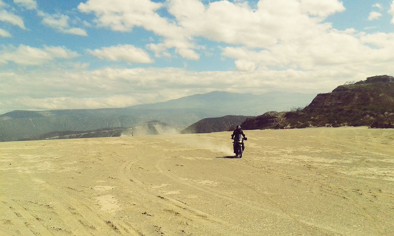 Beautiful stock photos of motorcycle, Adventure, Arid Climate, Beauty In Nature, Cloud - Sky