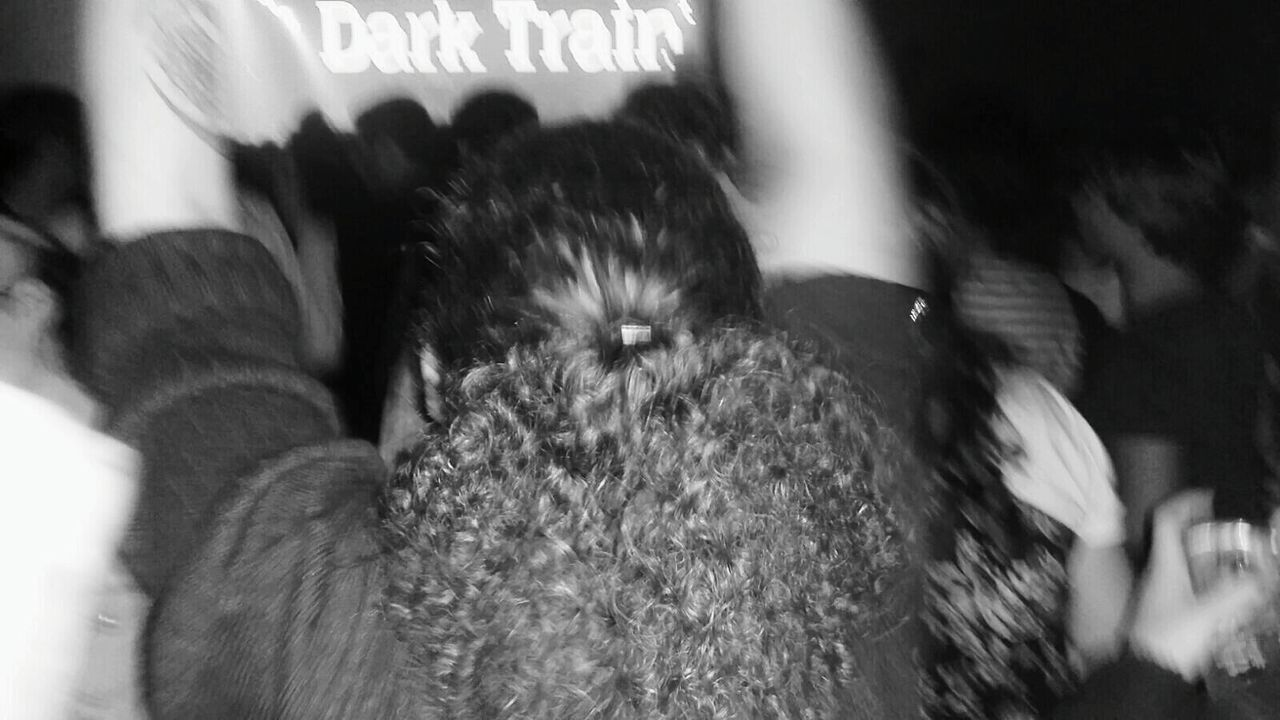 Dark Train Music Festival Curly Hair Dancing Dancing Around The World People Dancing Blackandwhite Hands Up Hands Up In The Air Underworld Happy Me Festive Season Festival Season People And Places