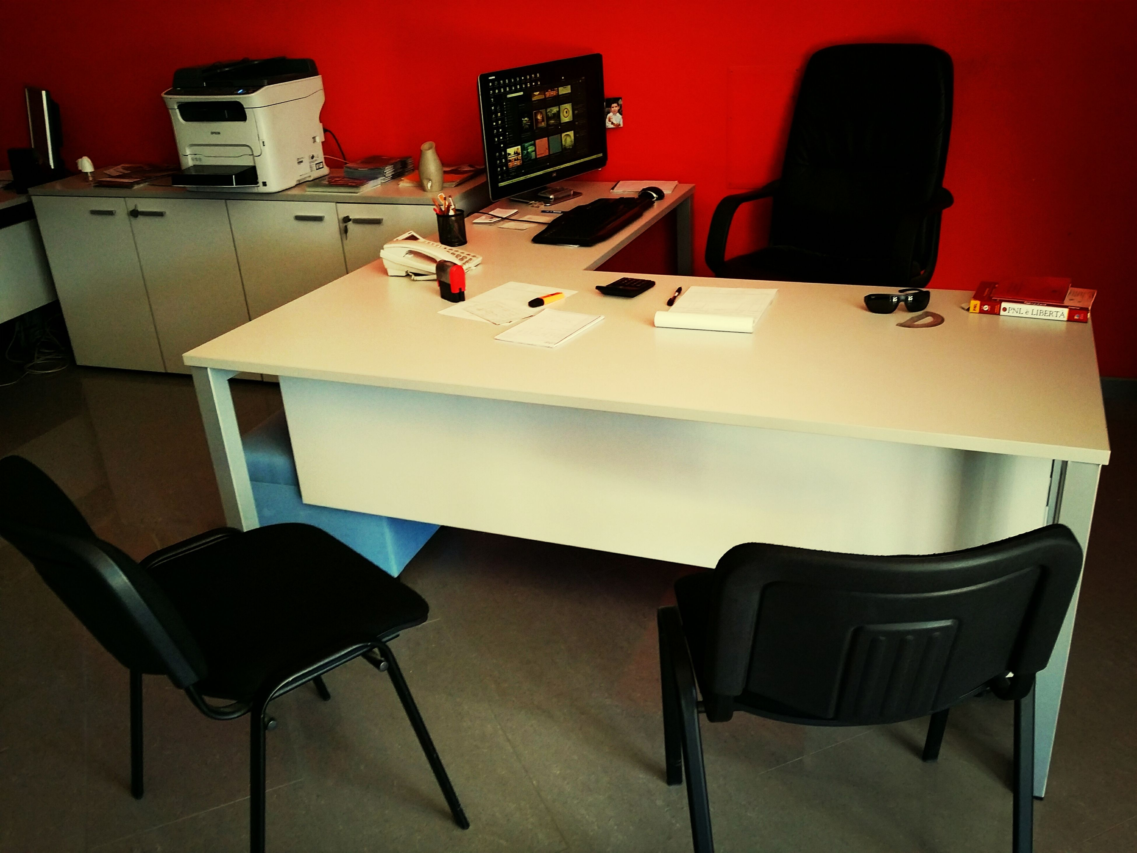 indoors, chair, absence, table, empty, furniture, seat, desk, office, restaurant, home interior, arrangement, home showcase interior, in a row, sofa, arts culture and entertainment, book, no people, modern, technology