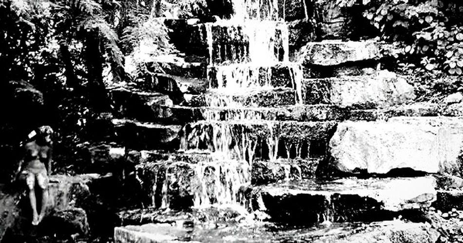 Flowing down Waterfall Water Rocks And Water Brunswick Braunschweig
