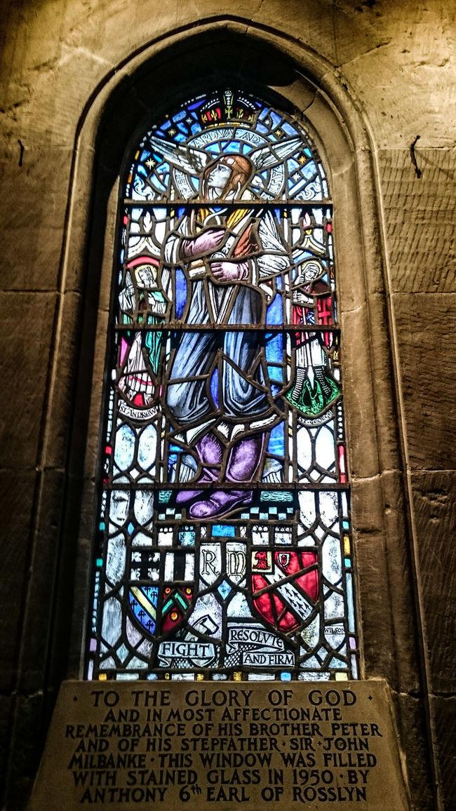 As seen in the da vinci code Pattern Pieces Stainedglass Churchporn RosslynChapel Rosslyn Chappel