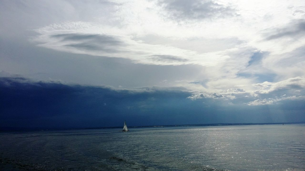 Sailboot Water Nautical Vessel Horizon Over Water Nature Outdoors No People Cloud - Sky Beauty In Nature Day Storm Cloud Scenics Sailing Sky Lake Constance Lake Bevor The Storm Storm Expectation Bodensee Premium Collection Kanton Thurgau Bodenseeregion Bodenseekreis