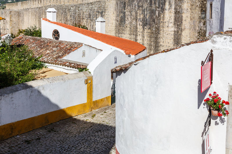 Architecture Building Exterior Built Structure Day House Nature No People Outdoors Residential Building Snow The Great Outdoors - 2017 EyeEm Awards Whitewashed Window Box Óbidos