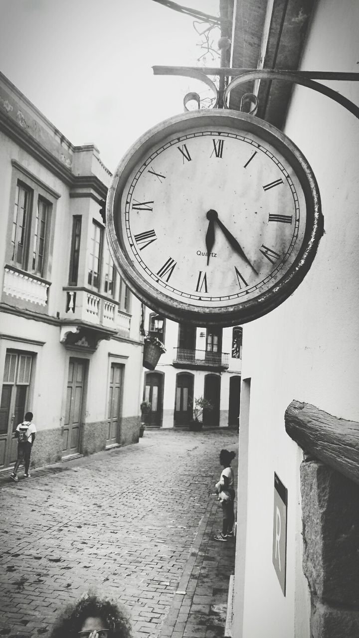 clock, architecture, built structure, building exterior, time, day, no people, low angle view, outdoors, minute hand, close-up, clock face