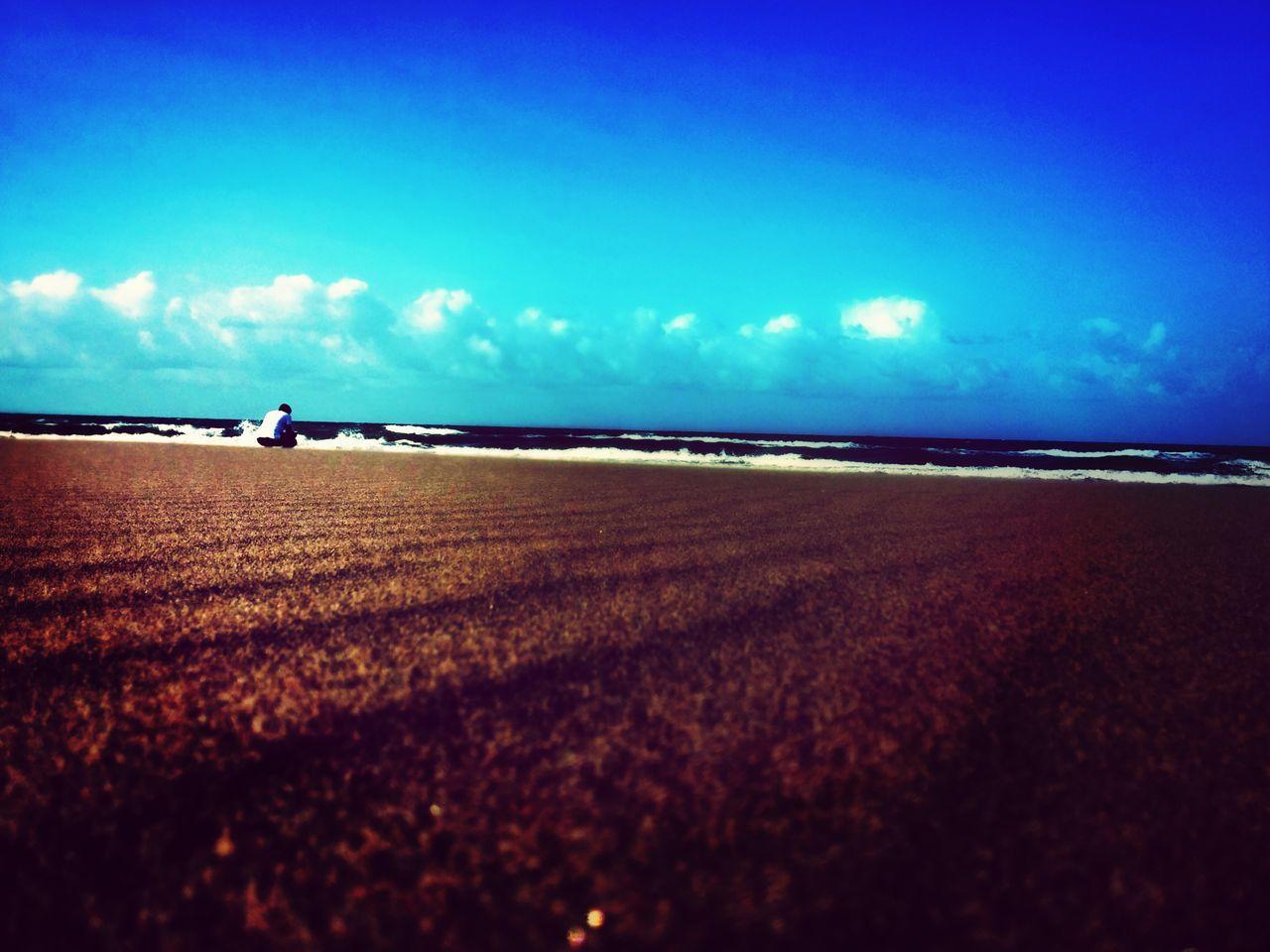 Lonley Man Beachphotography Sea