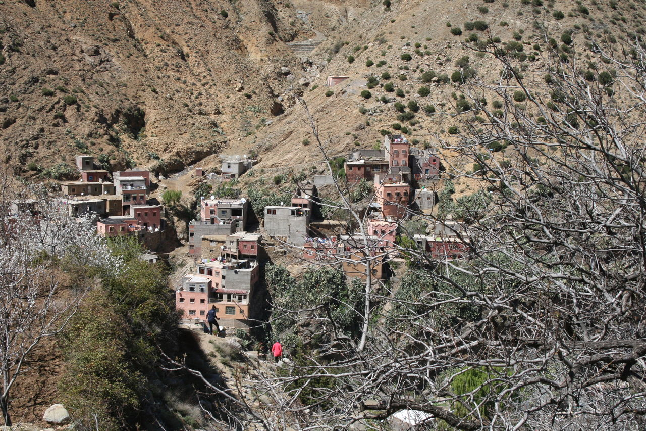 Architecture Atlas Mountains Branches No Leaves Mountains Nature Outdoors Valleys Village