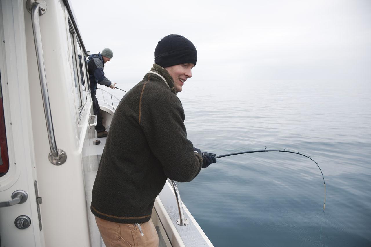 Beautiful stock photos of fishing,  30-34 Years,  Caucasian Ethnicity,  Day,  Fishing