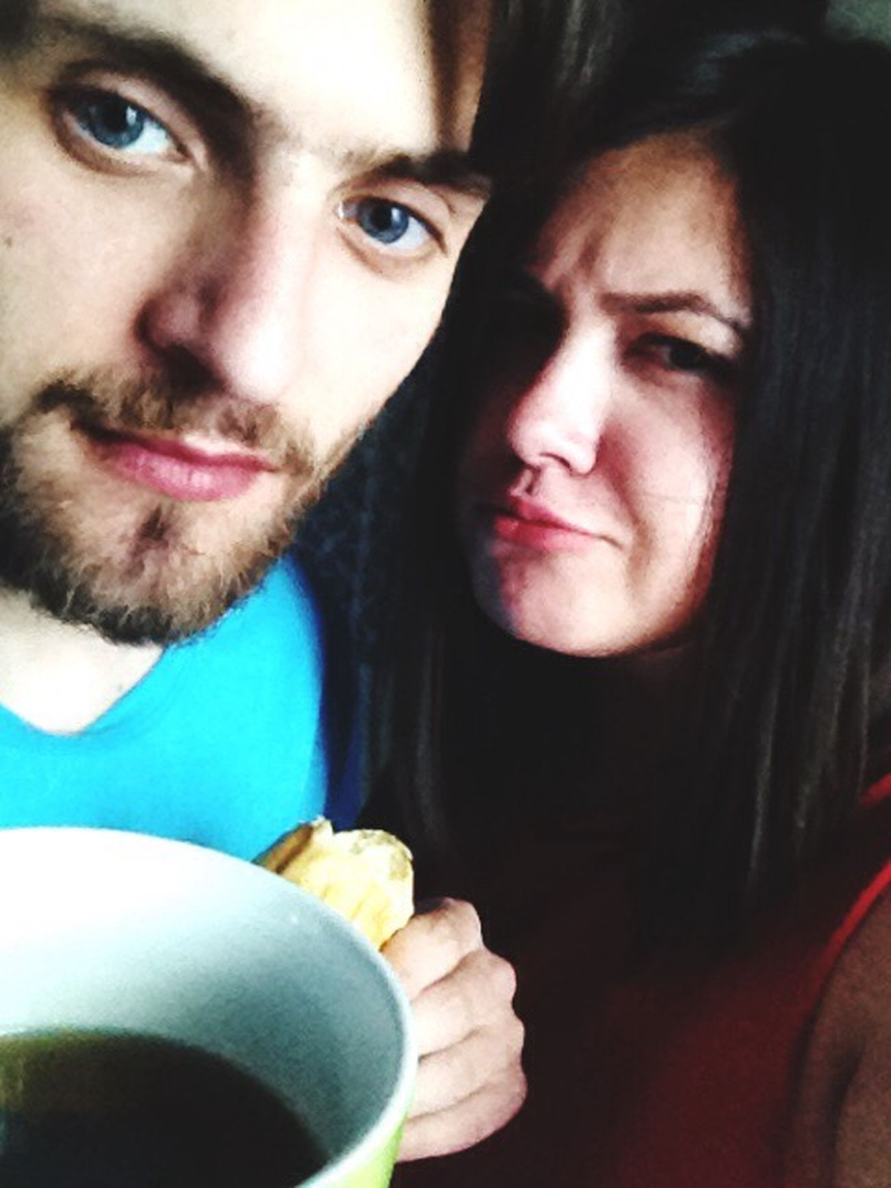 Eat Myboy♥ Love Day Smiling Two People Couple - Relationship First Eyeem Photo