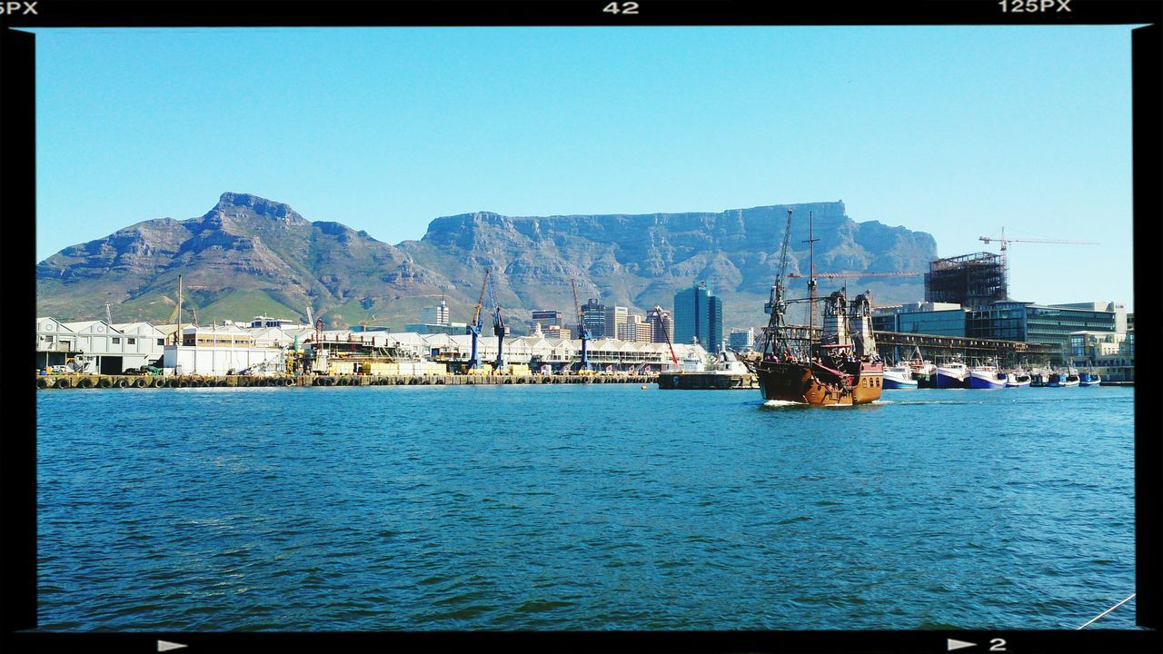 Awesome Table Mountain view from Boat Ride Sail Away, Sail Away The Calmness Within