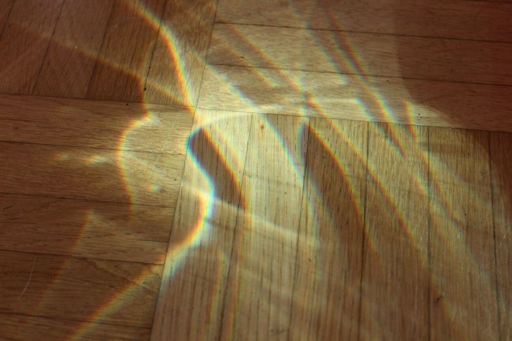 Wood - Material Textured  Concentric Backgrounds Indoors  Wood Grain Day Hardwood Floor No People Rainbow Sik Srk PhotographyOf Me Sun Photography Shadow Shadow Photography Eos1300d